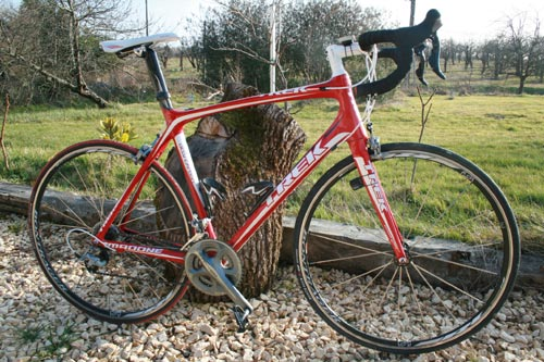 Photo of Trek Madone 5.5 review bike
